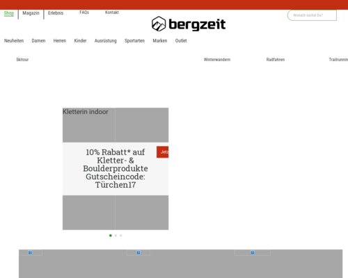 bergzeit.de screenshot