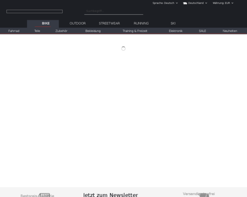 bike-discount.de screenshot
