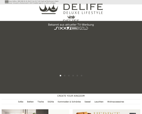 delife.eu screenshot