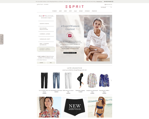 esprit.de screenshot