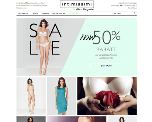 intimissimi.com screenshot