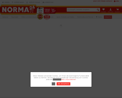 norma24.de screenshot