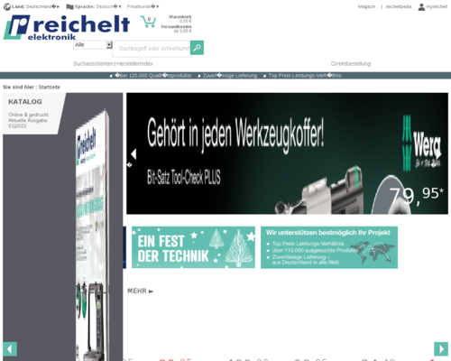 reichelt.de screenshot